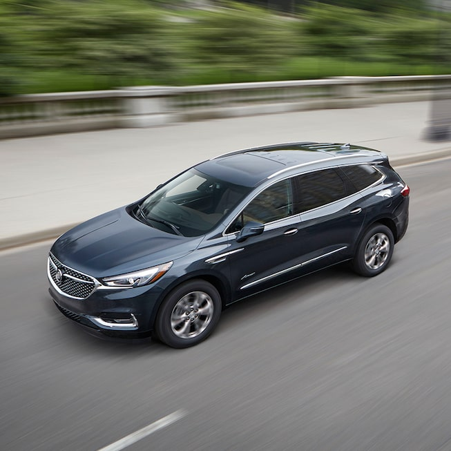 The Buick Enclave Avenir's intelligent All-Wheel Drive system with Active Twin-Clutch.