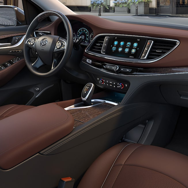 Interior of the 2019 Buick Enclave Avenir.