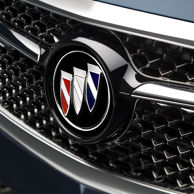 The 2019 Buick LaCrosse Avenir's intricate grille.