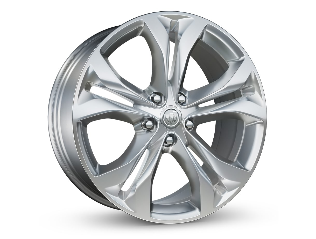 LaCrosse Avenir's standard 19-inch Pearl Nickel finish wheels.