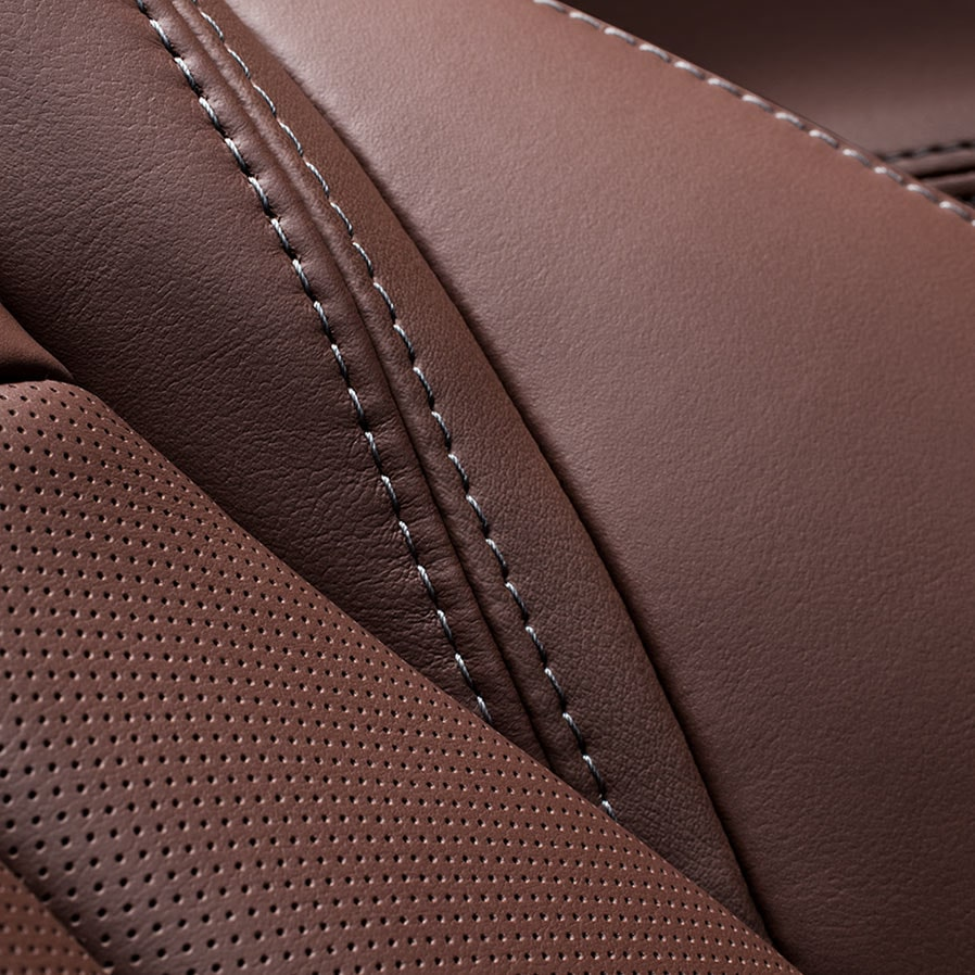 LaCrosse Avenir's available soft-touch perforated leather-appointed interior.