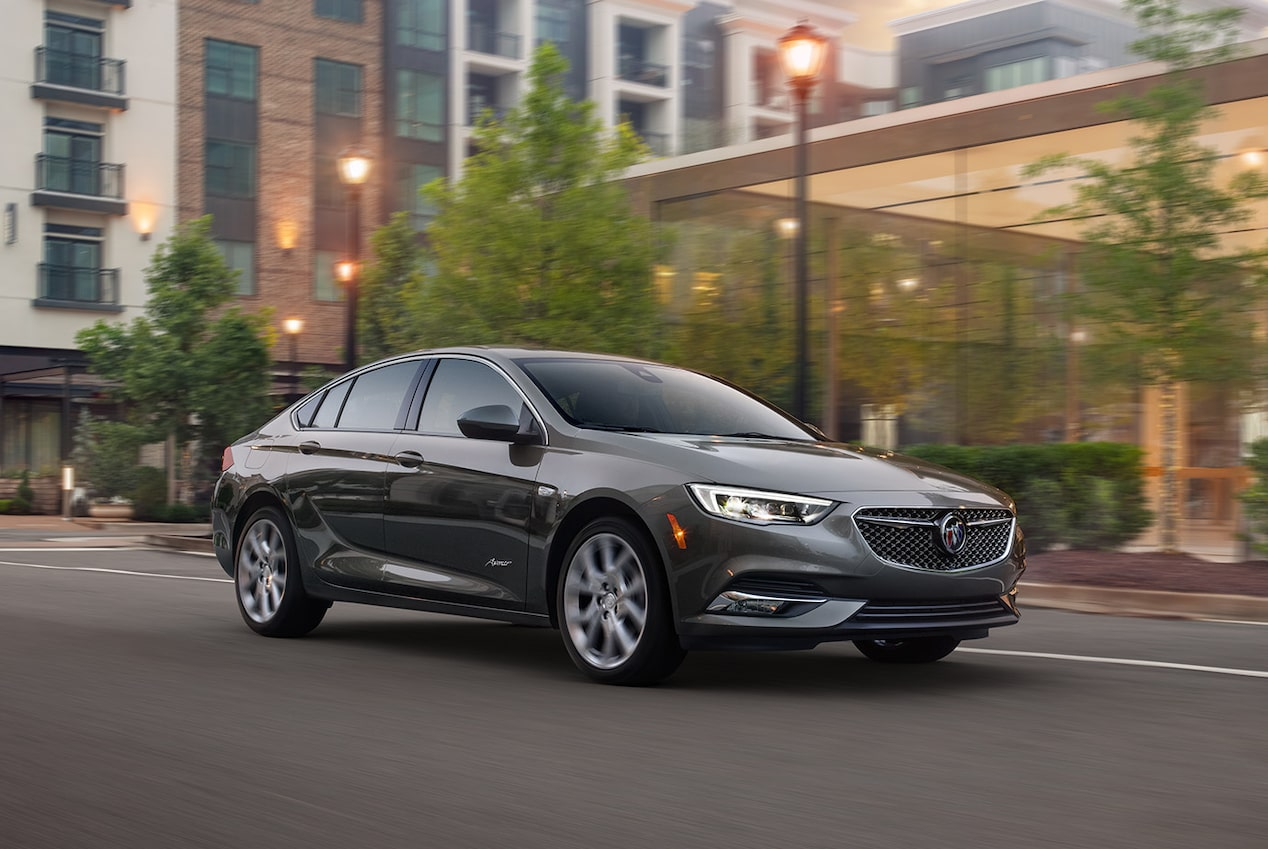 The refined performance features of the 2019 Buick Regal Avenir.