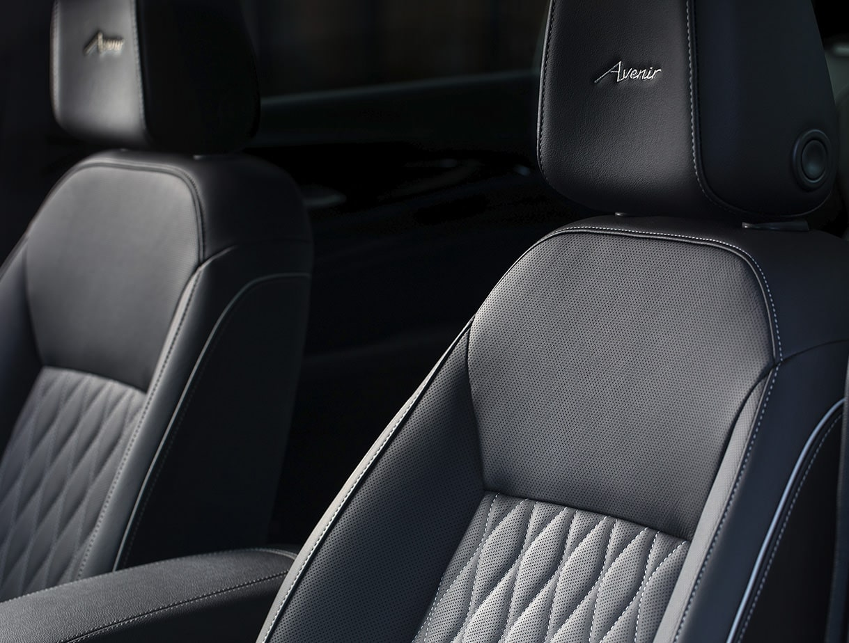 The Buick Regal Avenir with quilt-stitched seating.