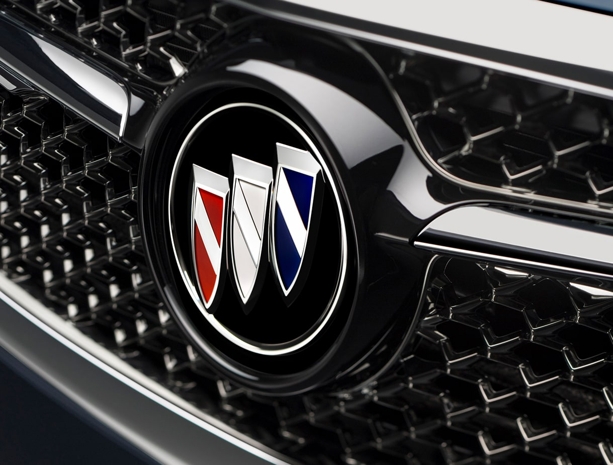 The Buick Avenir's grille design.