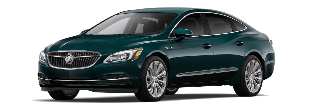 The 2019 Buick LaCrosse in Carrageen Metallic.