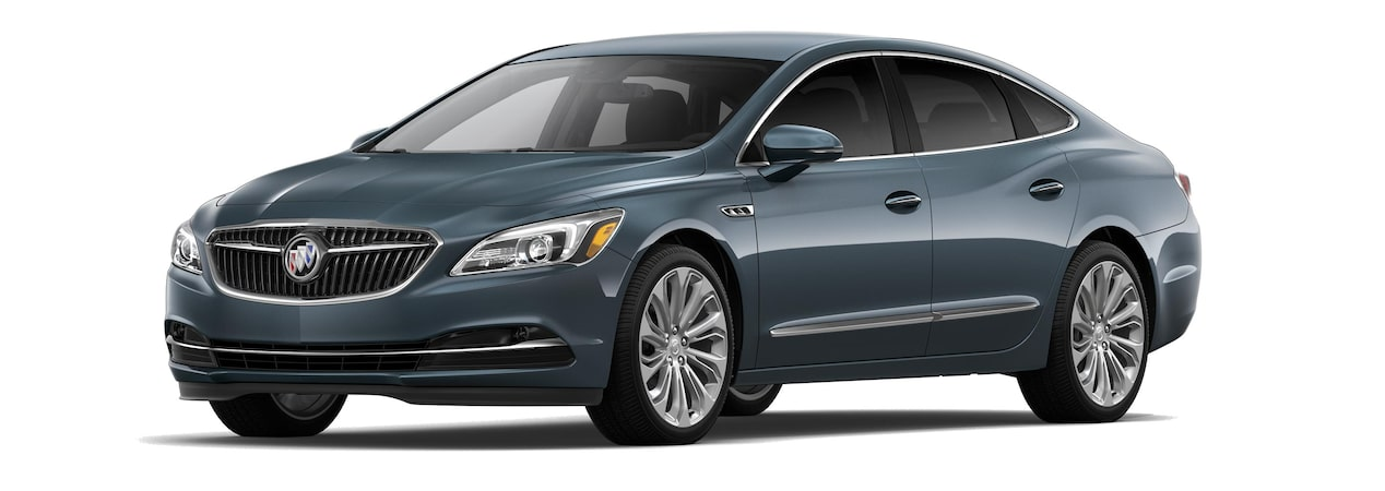 The 2019 Buick LaCrosse in Pewter Metallic.