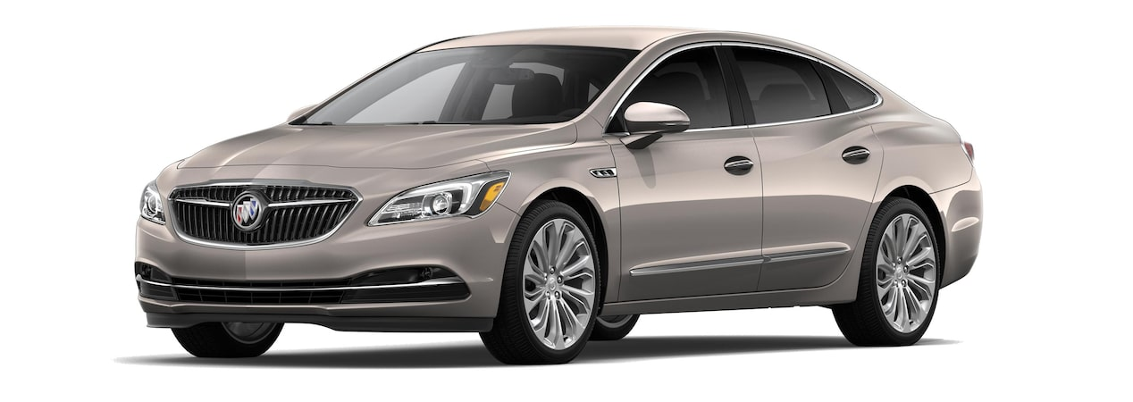 The 2019 Buick LaCrosse in Pepperdust Metallic.