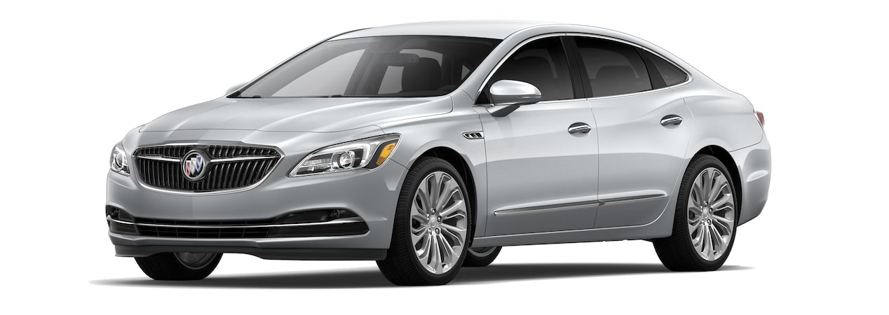 The 2019 Buick LaCrosse in Quicksilver Metallic.
