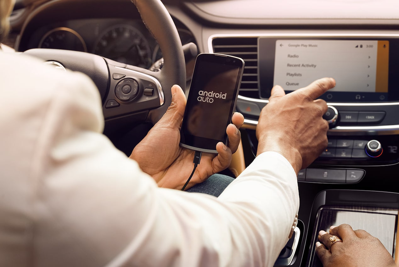 Buick LaCrosse with available Android Auto compatibility.