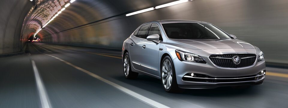 Performance features of the 2019 Buick LaCrosse full-size luxury sedan.