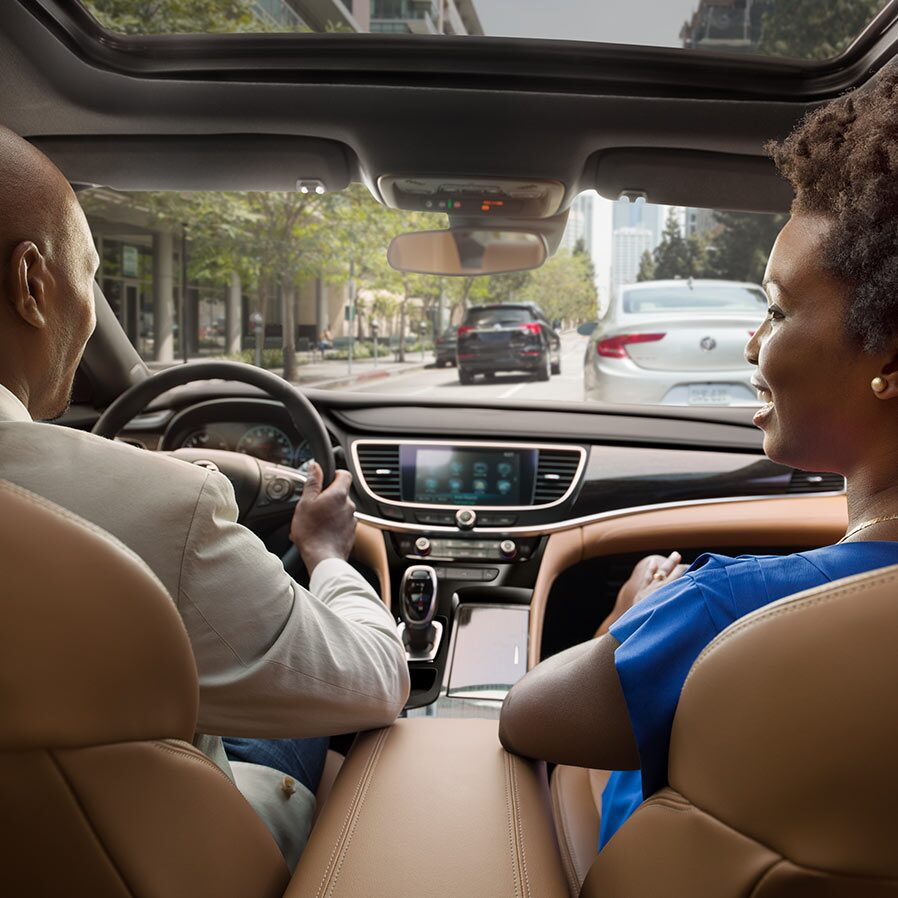 2019 Buick LaCrosse full-size luxury sedan's available safety features.