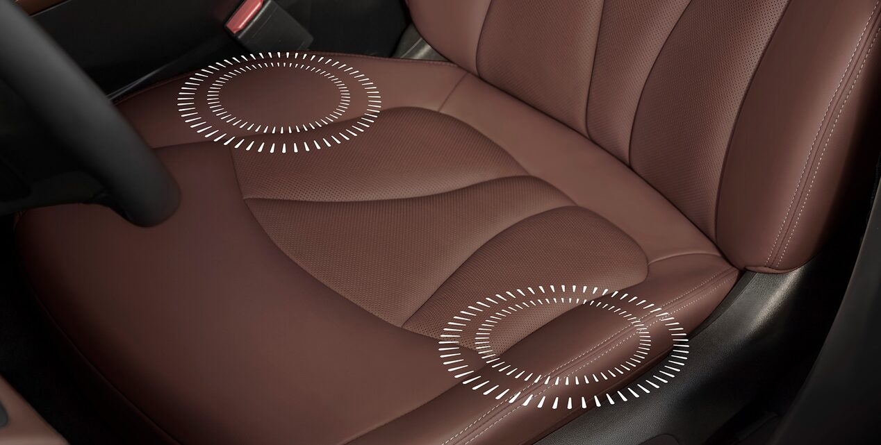 Buick LaCrosse's available Safety Alert Driver Seat.