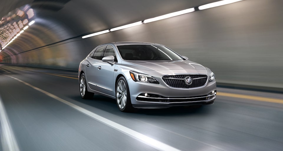 The Buick LaCrosse is available with advanced powertrain options.
