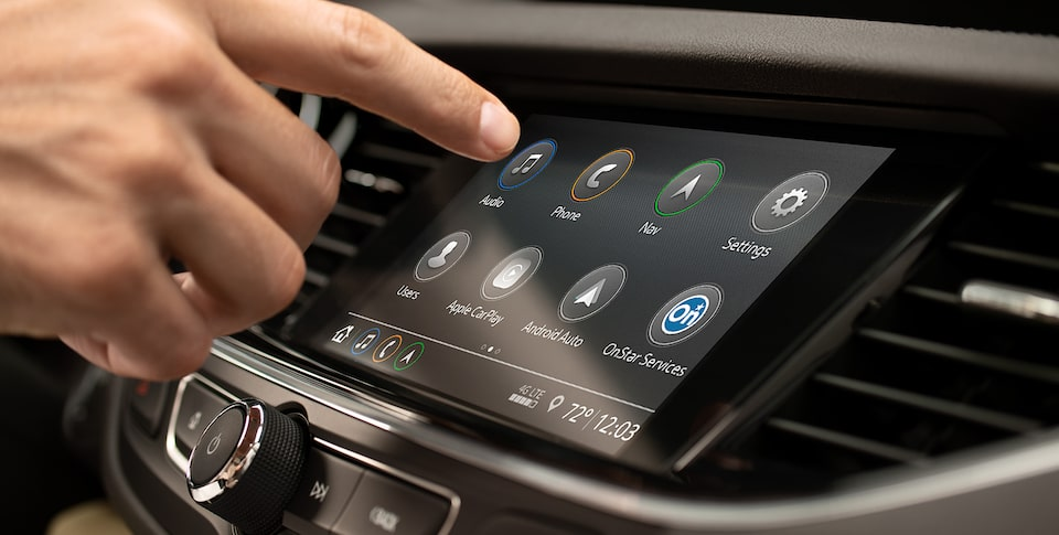 2019 Regal Sportback mid-size luxury sedan's Buick Infotainment System.
