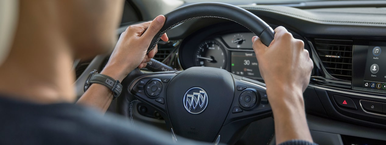 2019 Buick Regal Sportback mid-size luxury sedan's available safety features.