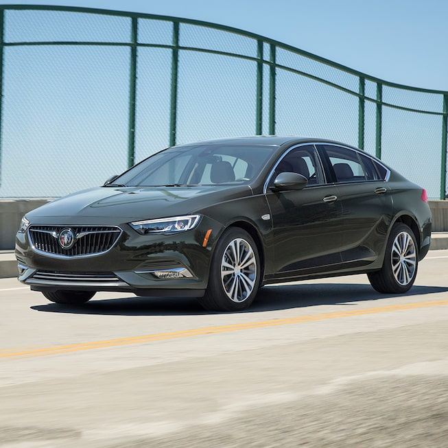 The Buick Regal Sportback with Forward Collision Alert feature.