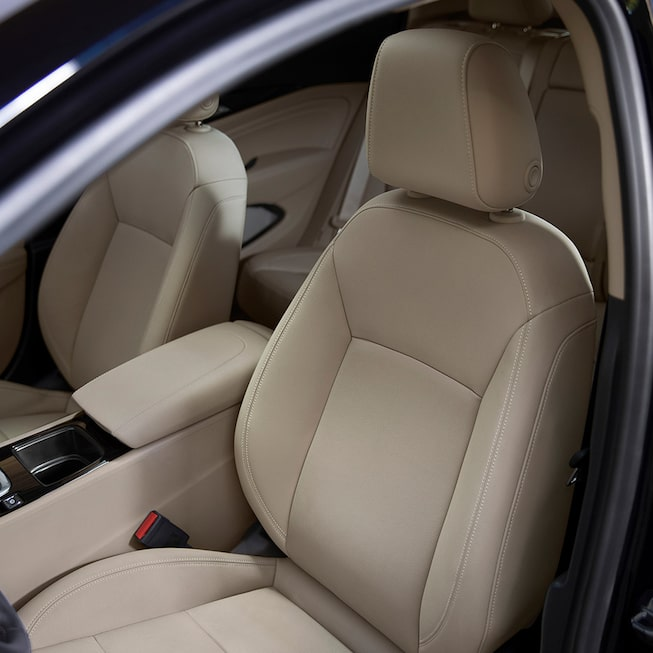 2019 Regal Sportback's available heated, leather-appointed front seats.