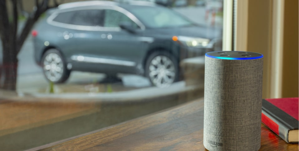The myBuick Skill For Alexa Activated By Voice Command.
