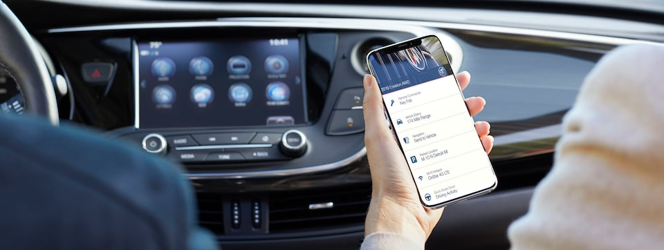 2019 Buick Connected Access.