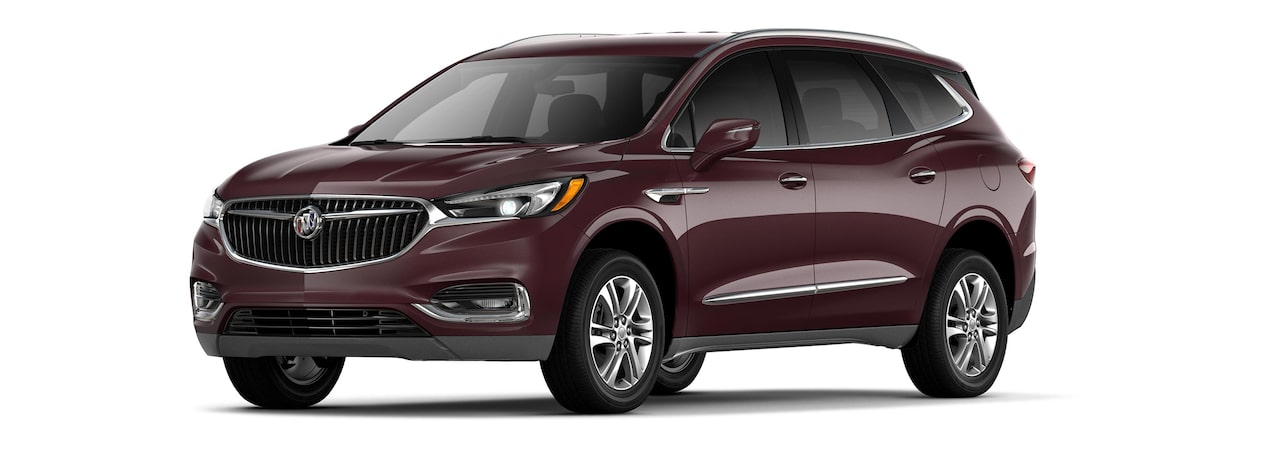 The 2019 Buick Enclave in Black Cherry Metallic.