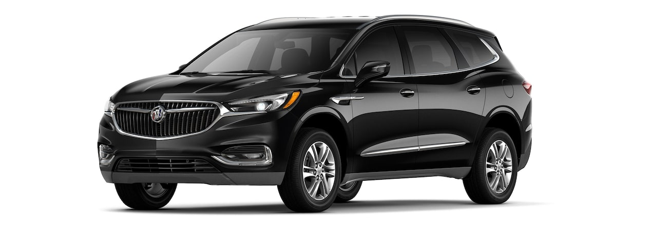 The 2019 Buick Enclave in Ebony Twilight Metallic.