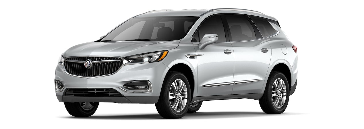 The 2019 Buick Enclave in Quicksilver Metallic.