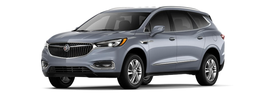 The 2019 Buick Enclave in Satin Steel Metallic.