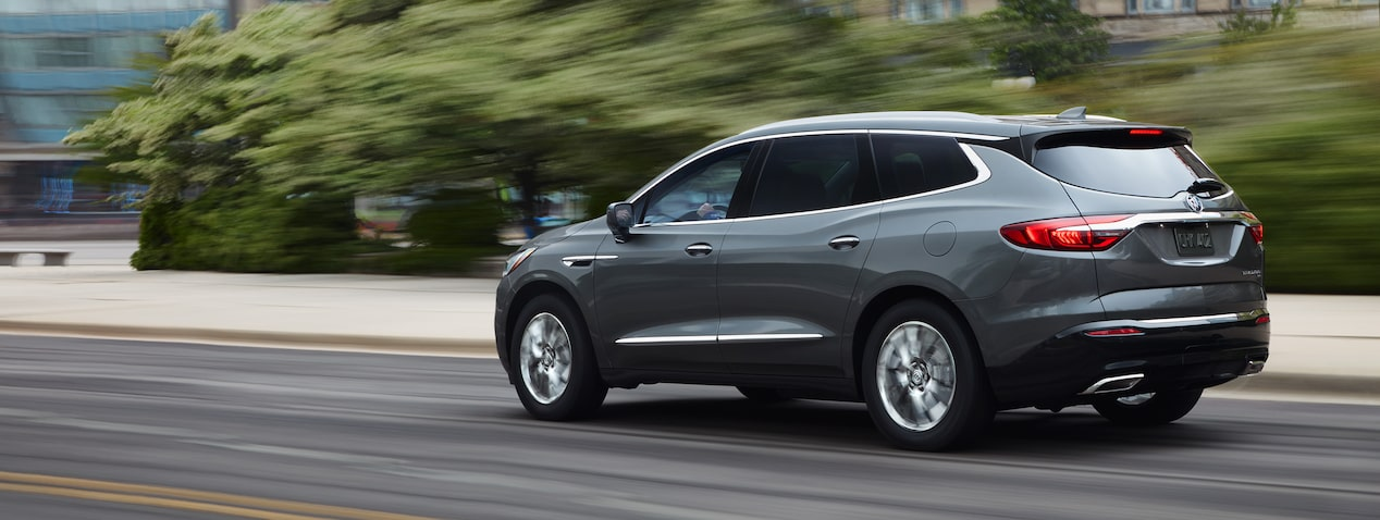 2019 Buick Enclave mid-size luxury SUV's available performance features.