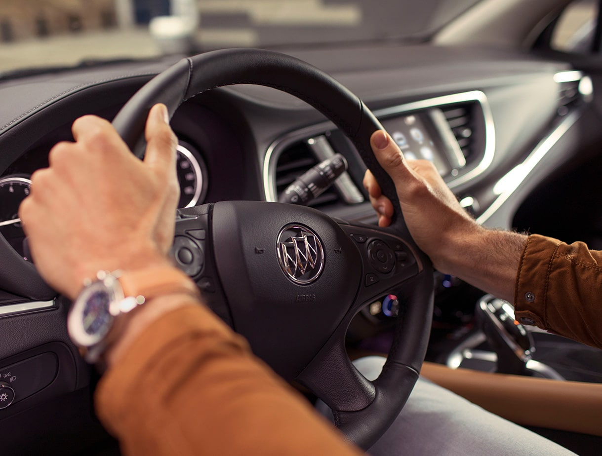 The Buick Enclave was engineered for an agile and responsive driving experience.