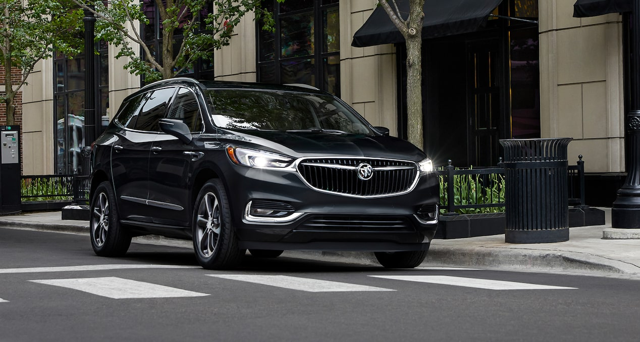 2019 Buick Enclave performance: seamless Stop/Start technology.
