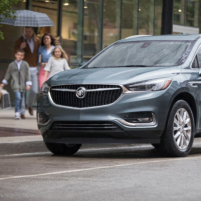 Exterior of the 2019 Buick Enclave mid-size luxury SUV.