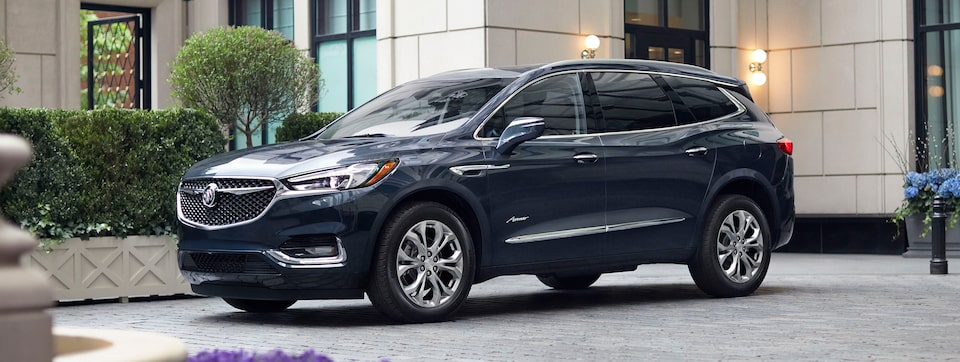 Exterior of the Buick Enclave Avenir.