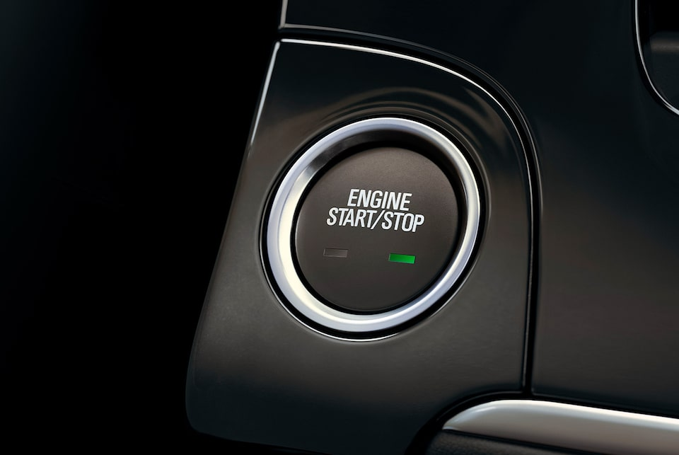 2019 Buick Encore's standard Keyless Open and Push-Button Start feature.