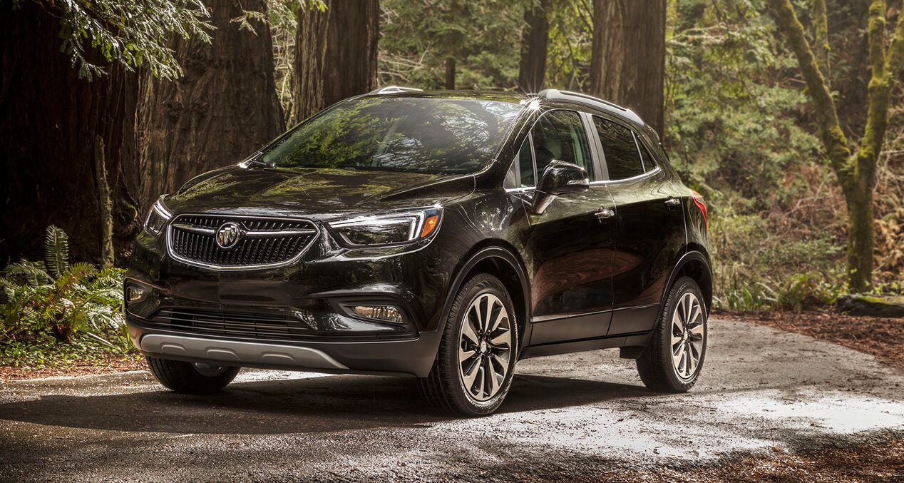 Buick QuietTuning technology with Active Noise Cancellation inside the 2019 Encore small SUV.