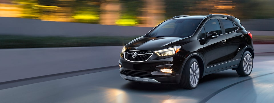 Performance features in the 2019 Encore small luxury SUV.