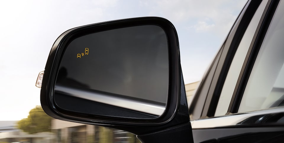 2019 Encore small luxury SUV's available Side Blind Zone Alert feature.