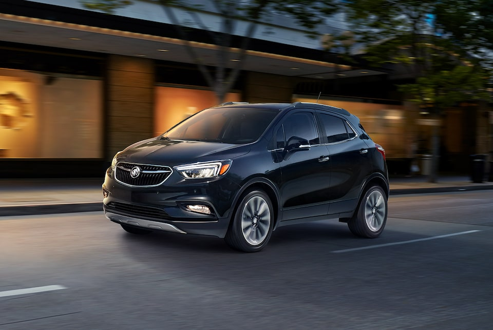 The 2019 Encore small luxury SUV with available Lane Departure Warning.