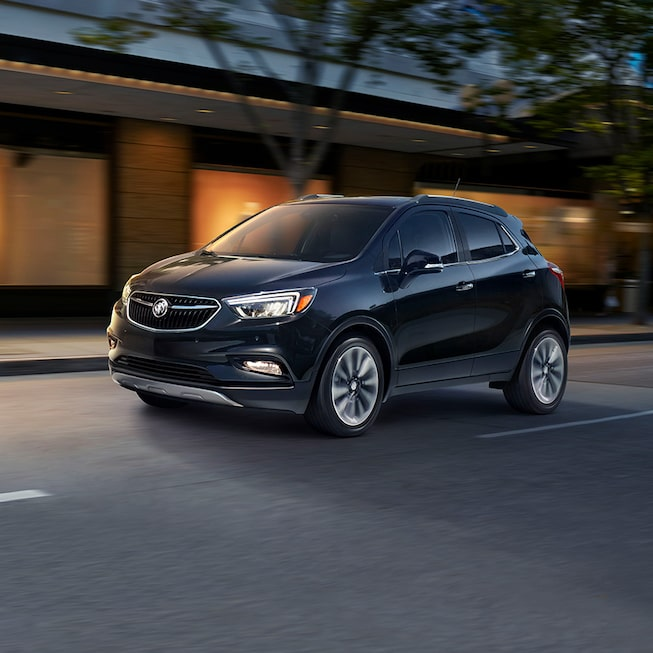 Grille of the 2019 Encore small SUV.