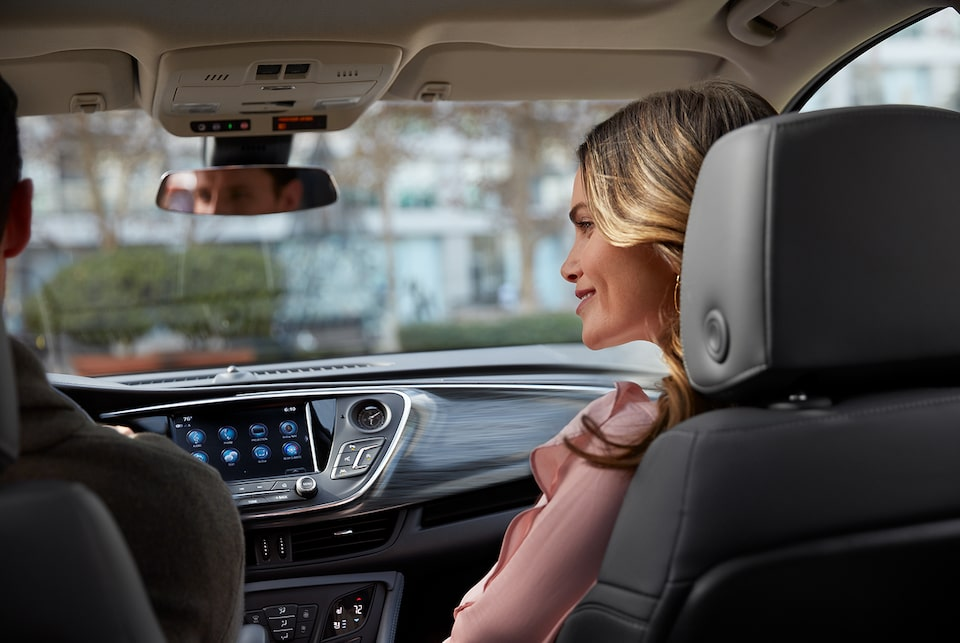 The 2019 Envision SUV's Buick QuietTuning technology.