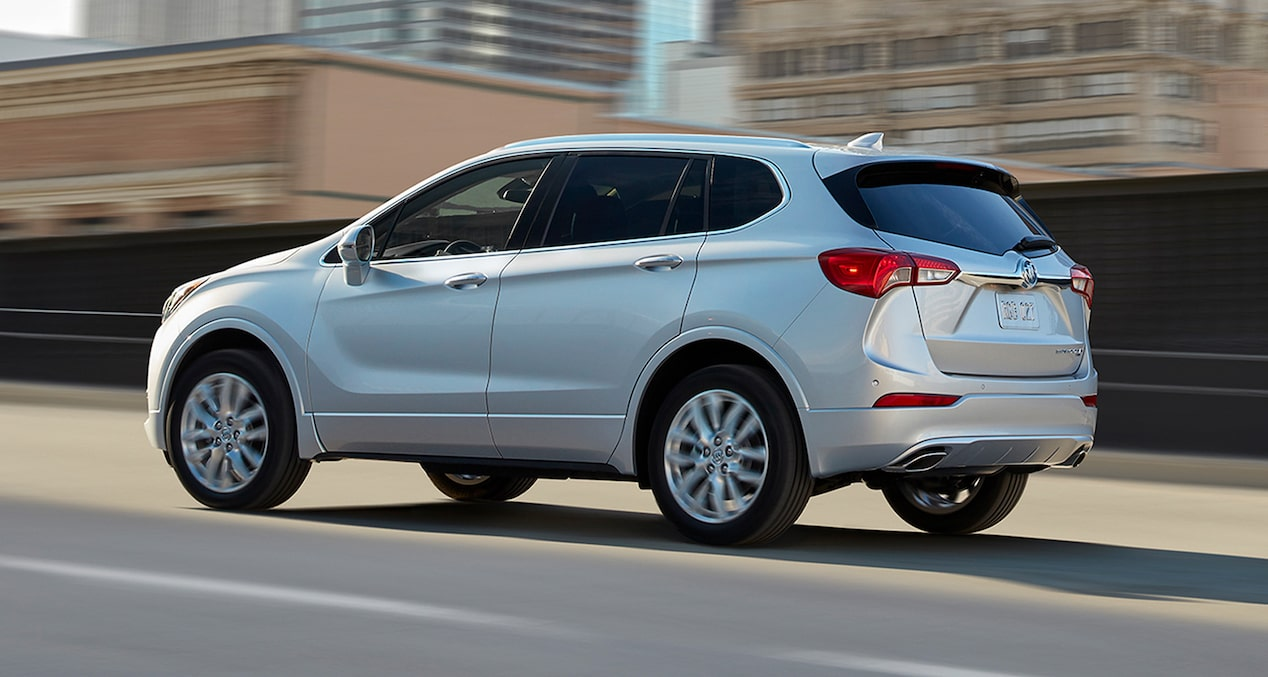The 2019 Buick Envision comes with stop/start technology.