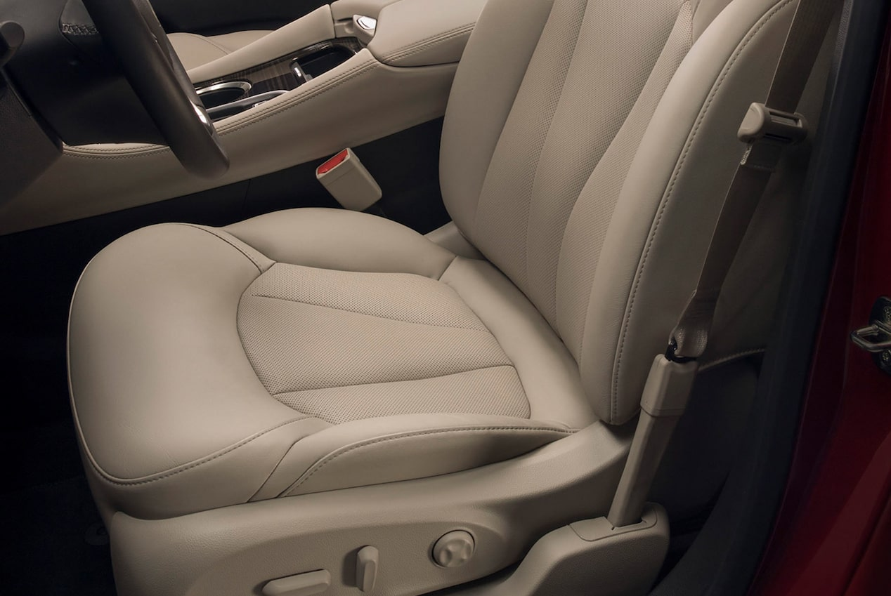 The 2019 Envision's available GM-patented Safety Alert Seat.