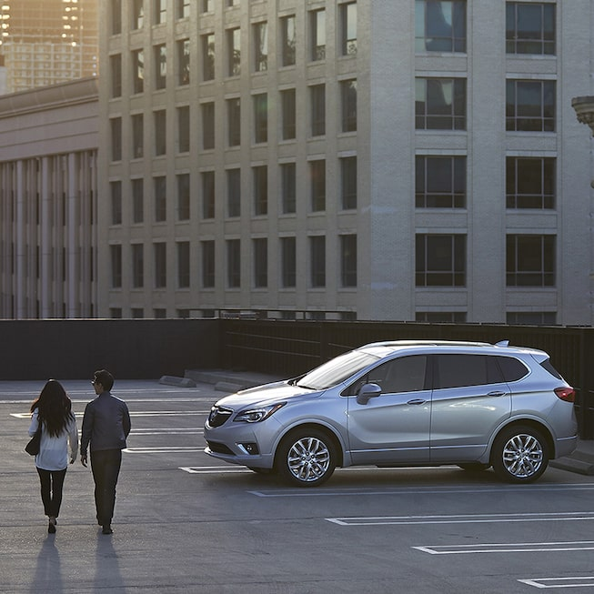 The 2019 Envision compact luxury SUV.