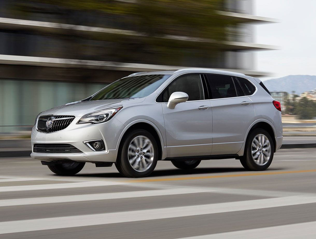Performance features of the 2019 Buick Envision.