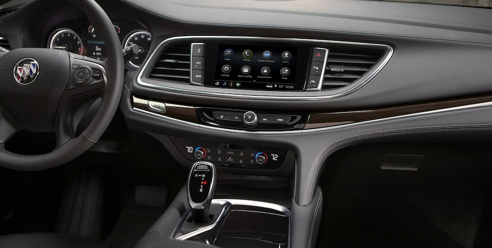 2020 Buick Enclave SUV Infotainment Center.