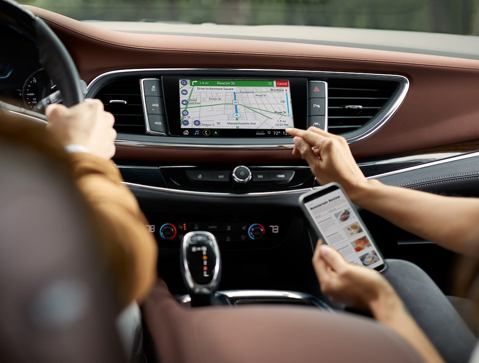 2021 Buick Enclave Mid-Size SUV Navigation.