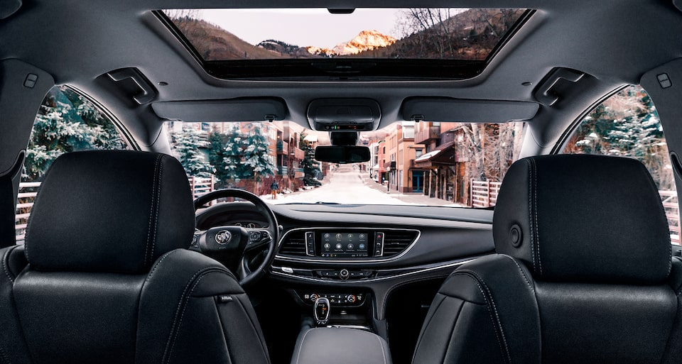 2020 Buick Enclave Mid-Size SUV Interior Features Automatic Heating And Ventilated.