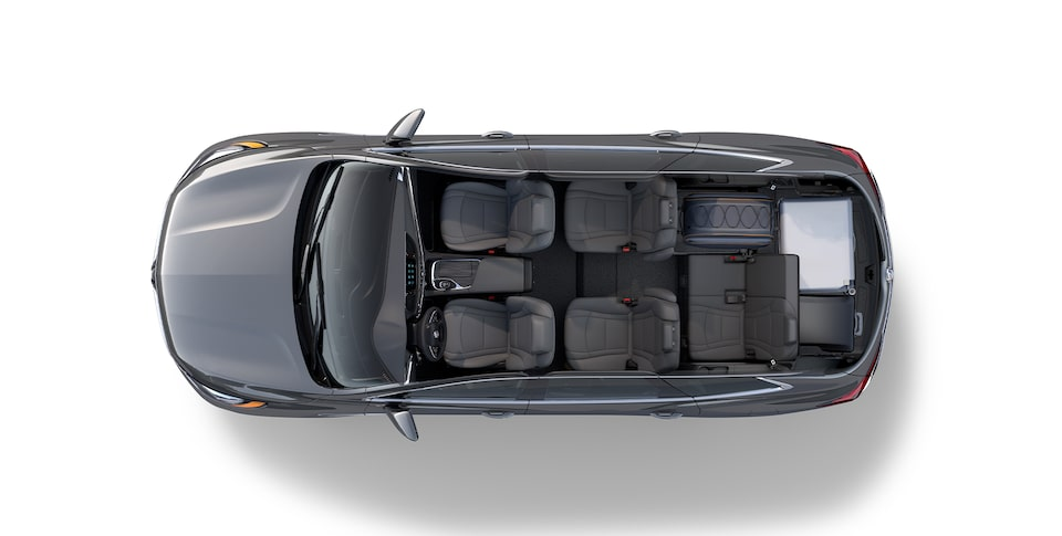 Buick Enclave Mid-Size SUV Interior Features Cargo Light.