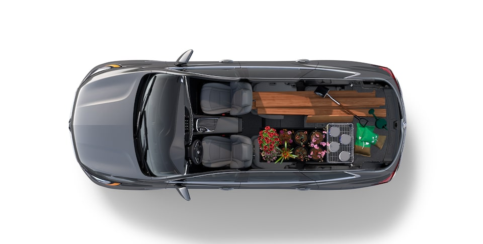 Buick Enclave Mid-Size SUV Interior Features Cargo Full.