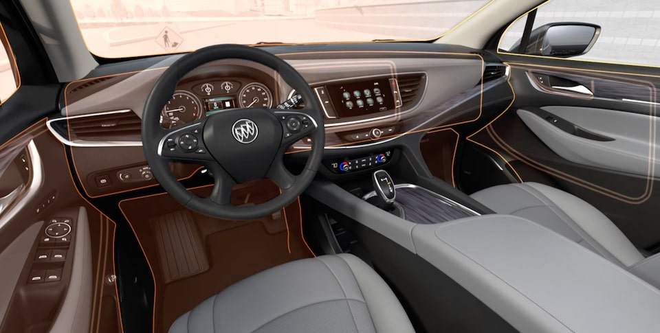 2020 Buick Enclave Mid-Size SUV Interior Features Quiet Tuning Video Still.