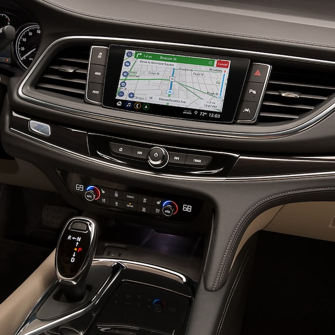 2020 Buick Enclave Mid-Size SUV Navigation.